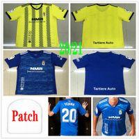 2020 2021 Real Oviedo Soccer Jerseys IBRA R.folch Y.Barcenas johannesson Mossa Javi Munoz Custom 20 21 Домашний Взрослый футбол футбола