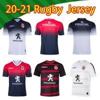 2020 Toulouse Home Nice Rugby Jersey 2020 Stade Toolousain Toulouse Rugby Jerseys League Jersey Tluth Shirt الترفيه الرياضة الحجم S-5XL