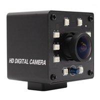 Camcorder ELP Weitwinkel USB-Kamera mit IR-LED-Platine 2MP 1080P OV2710 USB2.0 Webcam-Modul-Unterstützung CUT1