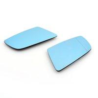 AreyourShop Door Mirror Vidrio con calefacción azul izquierda + derecha para BMW 5-Series E60 Sedan E61 Touring 6-Series E63 Coupe E64 Cabrio 51167065082