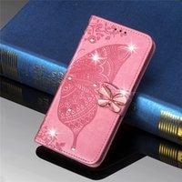 Флип книга Кожаный чехол Чехол для Galaxy S M31 A21S Samsung A10 A20 A40 A51 A71 A70 A7 J4 J6 S8 S9 S20 FE Телефон бумажник бабочки