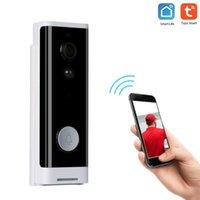 Campainha Wifi Wifi Campainha 1080p Wireless Servid Servir Camera Campainha Bell 2-Way Talk Pir Movimento Detecção Night Vision Tuya Intercom