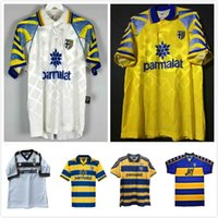 PARMA MAGLIA Jerseys 1995 1997 1998 1999 2000 95 98 99 00 01 02 03 CRESPO ORTEGA THURAM Football Shirt SOCCER top retro vintage