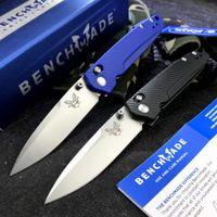 NOUVEAU BENCHMADE BM 485 AXIS couteau pliant lame EDC tactique de survie Couteau de poche D2 T6061 poignée en aluminium 535 940 781 couteau