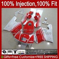 Injektion für Honda NSR250R MC28 PGM4 94 95 96 97 98 99 102HC.23 NSR 250 R 250r NSR250 R 1994 1996 1997 1998 1999 Verkleidung rot weiß neu