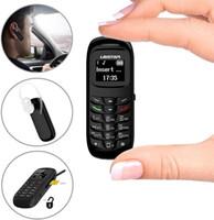 Mini Mobile Phone L8STAR BM70 sem fio Fone de ouvido Bluetooth Celular Stereo GSM Desbloqueado Super Fino GSM telefone pequeno BM90 BM50 BM10 BM30