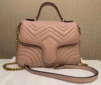 2020 bolsas clássicas de desenhista amor padrão de onda satchel mulheres bolsas com alça de ombro saco Cadeia Cruzbody bolsa de compras bolsas