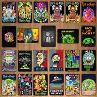 2021 Funny Voulez-vous croire au cinéma de dessin animé UFO Film Vintage Film Panneau Métal Plaque Mur Pub Chambre Enfant Home Art Cinéma Décor