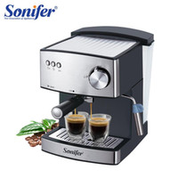 1.6L máquina de café espresso elétrico máquina de café 15 bar expresso espuma elétrica fabricante de cozinha aparelhos de cozinha 220V sonifer