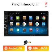 Universal 2 Din Android 10 7Inch Quad Core Core Lecteur DVD GPS WIFI BT Radio 2GB 32GB ROM 4G SIM LTE NEW NEWD NO DVD