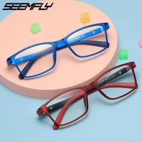 نظارات شمسية غير مضادة للأزرق ضوء النظارات الأطفال مربع إطار النظارات بنين بنات الحاسوب حملجل واضح عدسة النظارات للجنسين 2021