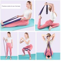 Polyester Cotton Yoga Belt Set Chest Expander Fitness Pull Rope Practical Stretch Arm Apparatus Puller