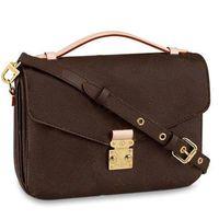 Hot Designer Handtasche Messenger Bag Oxidation Leder Pochette METIS Elegante Umhängetaschen Crossbody Taschen Einkaufen Geldbörse Kupplungen 40780