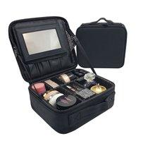 Snugug Femmes Marque Coque cosmétique Multifonction Voyage Maquillage Bag Organisateur Bolso Muje esthéticienne Grand maquillage maquillage Suitcase Pochette Y200714