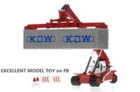 KDW Technoy Truck Model Toy, Container Crane, 1:50 Масштаб, Большой размер Высокое симуляция, Высокое симуляцию Большой Размер, Партия Партия «Подарки на день рождения», сбор, украшения дома