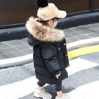 아기 소년 자켓 2020 가을 겨울 자켓 코트 키즈 따뜻한 두꺼운 후드 어린이 겉옷 코트 유아 소녀 소년 의류 LJ201203