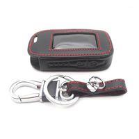 Alarmbeveiliging Aankomst E90 Lederen Key Case voor Starline E91 E60 E61 E62 E92 LCD Way Auto Remote 2 Alarm1