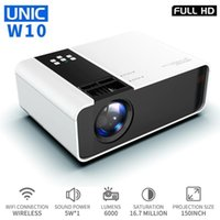Unic W10 LED 6000 Lumen Projektor 1080P Full HD WiFi Movie Game Sync-Bildschirm Bluetooth LCD-Linsenbeampfer Android-Protector1