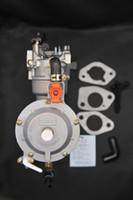 190F GX420 LPG Su Pompası Motor Dönüşüm Kiti Çift Yakıt Karbüratör Tonco