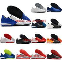 2021 Футбольные ботинки Мужские Клеиты Tiempo Легенда VIII Pro TF TURF Футбол Da Calcio Высокое качество