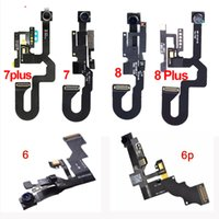 Ön Kamera Flex Kablo iPhone 5 5 S 5C 6 6 Artı 6 S 6 S Artı 7 8 Artı Proximity Sensörü Işık Kamera Değiştirme
