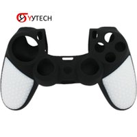 Syytech Double Color Silicon Skin Case for PS4 Slim Pro Controller خيار متعدد الألوان