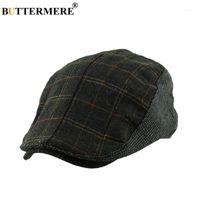 Береты батаревой плоский берет кепки плед мужские шерстяные классические повседневные утки шляпа женское водитель британский стиль зимняя весна модный1
