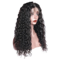 Water Wave Wig 13x4 Lace Front Human Hair Wigs Pre Plucked With Natural Hairline Modern Show Brazilian Hair Wig Fast Free Shipping