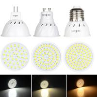 LED Reflektor Bulb E27 MR16 GU10 36 54 72 LEDS 4W 6W 8W 110V 220 V DC 12 V Cool Neutral Ciepła biała lampa