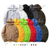 Neue Mode Marke Herren Herbst Winter 2020 European Streetwear Herren Lose Pullover Langarm Kapuzenpullover Sweatshirt Hoodies
