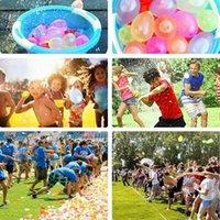 Волшебщенная водяная шар красочные открытый водный бой игра игра партии детский подарок игрушка как мальчик и девочка