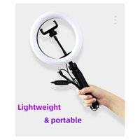 Portable Selfie SelfiPlight Trépied réglable Photographie Prise de vue de photographie Téléphone PHOTO PHOTO LED Bague Lampe YouTube Remplissage