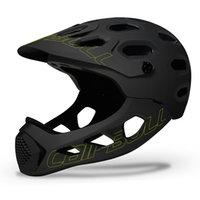 Extreme Sports DH am MTB-Fahrrad-Helm mit abnehmbarer Kinnstange Road Mountain Bike Skateboard Radfahrenhelm