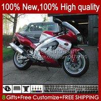 Körper für Yamaha YZF1000R Thunderace 96 97 98 99 00 01 07 96HC.21 YZF-1000R YZF 1000R 2002 2003 2004 2005 2006 2007 Red Wine Heißverletzungen KIT