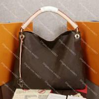 جلد طبيعي artsy المرأة حقيبة يد مصممين الفاخرة حقيبة أعلى جودة السيدات حقائب الكتف سعة كبيرة حمل النقش الزهور والمواد