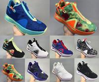 2020 Paul George Pg 4 IV PG 4 Gatorade White Mens كرة السلة أحذية بلو جرين PG4 الرياضة رياضية المدربين في zapatos chaussures