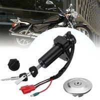 Acessórios Substituição Durável Ajuste Direto Substituição Fácil Instalação de Abélice Cap de Combustível Cap de ignição Switch Set Motocicleta para YBR1251
