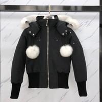최고 품질 새로운 도착 캐나다 여성 다운 파카 겨울 자켓 북극 파카 네이비 블랙 야외 코트 후드 Hiver Manteau Doudoune