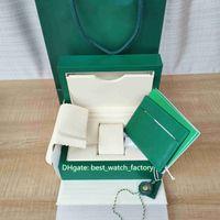 Vente chaude Qualité Haute Qualité Boîte Original Coffret Coffret Boîtes Sac à main pour le président 124300 126610 126710 116500 126711 Montres