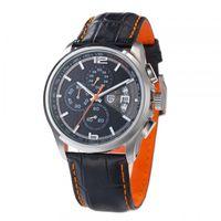 Mayforest Homens Cronógrafo Relógios Homens de Luxo Marca Quartzo Esporte Relógio de Pulso Mergulho 30M Casual Assista Relogio Masculino PD-3306