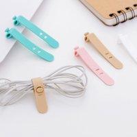 Silikon-Bandage-Bobbin-Wickler Schöne Pinkycolor-Headset-Wicker Originalität Schnappverschluss Hohe Qualität mit verschiedenen Mustern 0 76xk J1