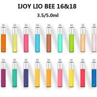 Аутентичные IJJOY Lio Bee одноразовые Vape устройство предварительно заполнено 3.5 мл 5 мл POD 1000 мАч Батарея пустой E CIG PEN стартовый комплект 100% оригинал
