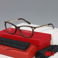 2020 Новые моды Солнцезащитные очки Кадры Буффало Горн Очки Рамка Очки Прямоугольные Очки Очки Рамки Человек Очки Человек Человек с коробкой