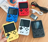 400 in 1 Spiele Retro Video Handheld Game Console Video Game Player für Kinder TV OUT VS 600 620 Q0104