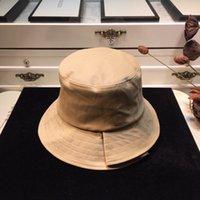 Kadın Kova Caps Yeni Moda Stingy Brim Şapka Çifte Giyim Harfler ile Plaj Rahat Gömme Şapka Erkekler Yüksek Kaliteli Balıkçı Şapka Kapaklar