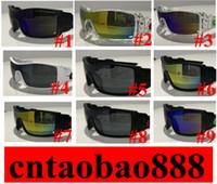 بيع 20PCS الساخنة النظارات الشمسية الشعبية الرياح الدراجات مرآة الرياضة في الهواء الطلق نظارات شمسية للنساء الرجال 36968 نظارات سفينة سريعة
