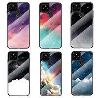 Ultra Slim Starry Sky Smooth Tempered Glass Case For Google Pixel 5 XL 4A 4 3A XL 3 3XL 2XL 2 Pixel XL