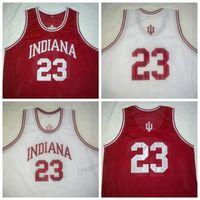 Ucuz Özel Retro # 23 Eric Gordon Indiana Hoosiers Basketbol Jersey Erkek Dikişli Herhangi Boyutu 2xs-3XL 4XL 5XL Adı veya Number Ücretsiz Kargo