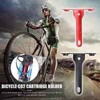 ZTTO Portátil Aleación de aluminio Bicicleta CO2 Cartucho Soporte Organizador Durable MTB Road Bike Cause Holder Soporte1