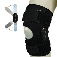 Arrampicata doppia ginocchiera a cerniera ergonomica in lega di alluminio regolabile regolabile all'aperto protettore sportivo congiunto congiunto professionale